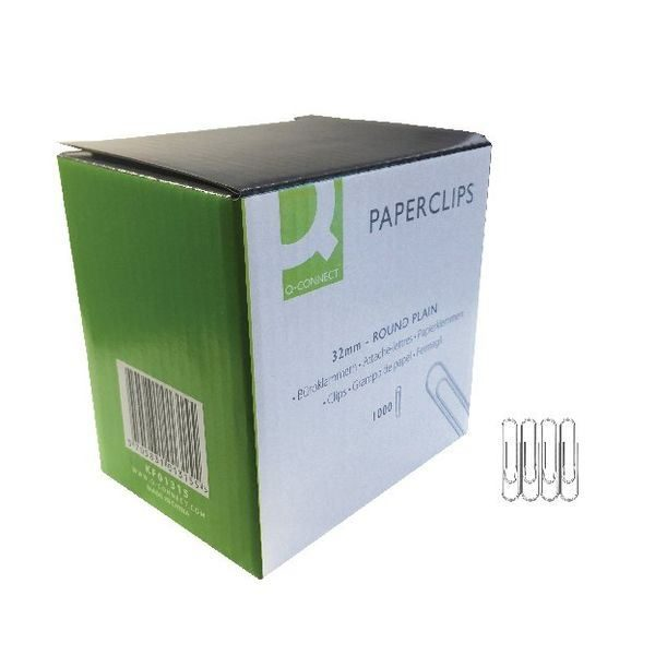 Paperclips - 32mm - Pack of 1000