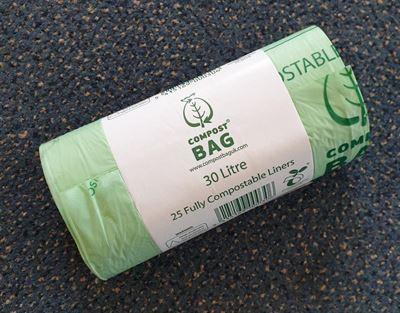 Compostable Caddy Liners 30l