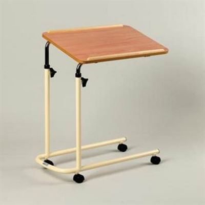Overbed Table With Four Castors