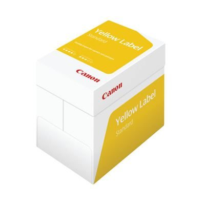 Canon White A4 Yellow Label Standard Paper - 80gsm - Pack of 2500