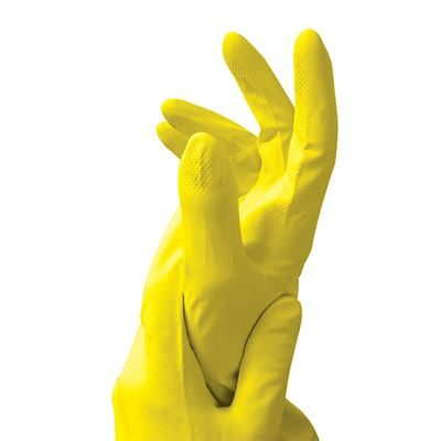 Household Latex Gloves - Pink