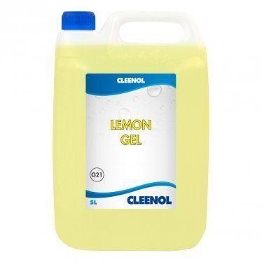 Cleenol Lemon Gel Floor Cleaner - 2 x 5L
