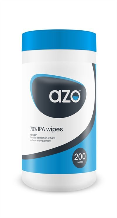 Azowipe Disinfectant Wipe Canister ME4541