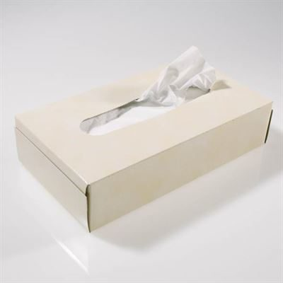 White Two-Ply Facial Tissues