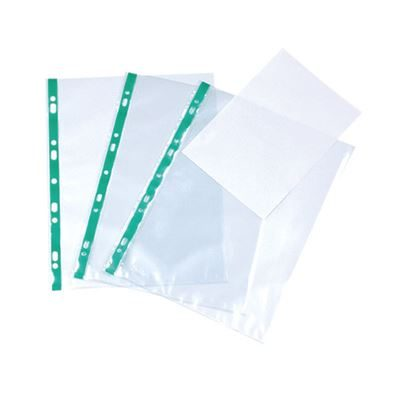Punched Pockets - A4 - 60 Micron - Pack of 100