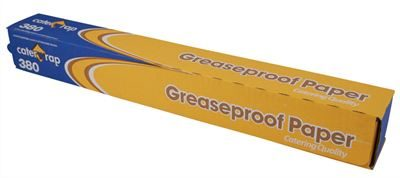 Greaseproof paper in cutter box