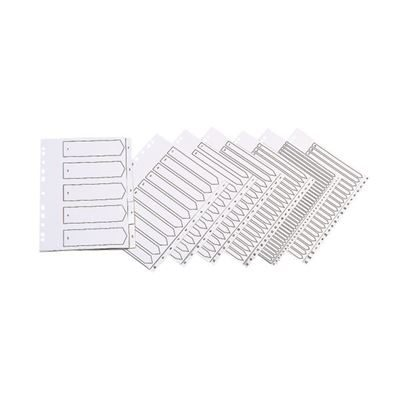 A-Z (20 Part) Indexed Dividers - A4 - White