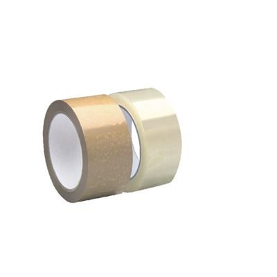Clear Polypropylene Adhesive Tape - 48mm x 66m
