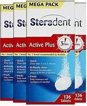 Steradent Denture Cleaning Tablets - Pack 12x30