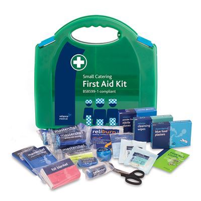 BSI First Aid Kit - Catering - Small (10 Person) - Refill Only