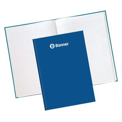 Hardcover A5 Notebook Ruled - 192 Pages