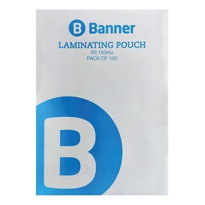 A3 Laminating Pouch - 150 Micron - Pack of 100