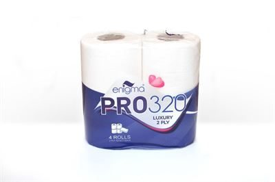 Deluxe White - 2 Ply Toilet Roll