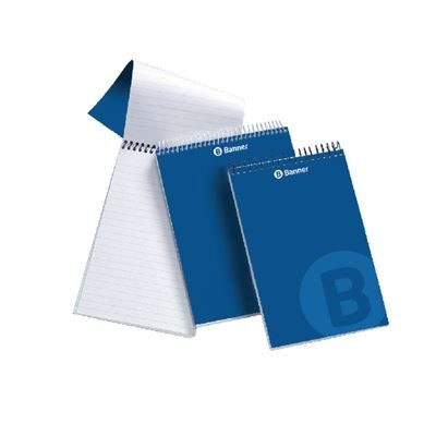 Spiral Bound Shorthand Notebook - 203x127mm - 160 Pages