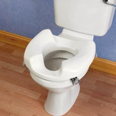 Ashby Wide Access Raised Toilet Seat