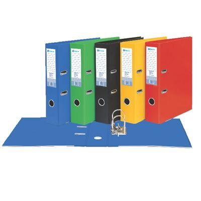 Polypropylene Lever Arch File - A4 - 70mm - Assorted Colours