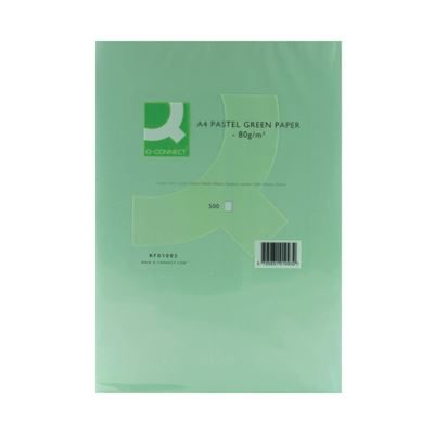 Q-Connect Green A4 Copier Paper - 80gsm - Pack of 500