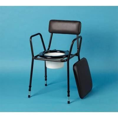 Height-Adjustable Commode