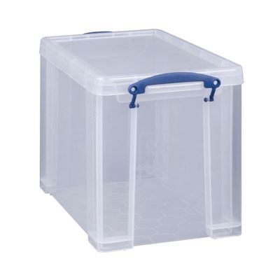 Really Useful Plastic Storage Box With Lid - 19L