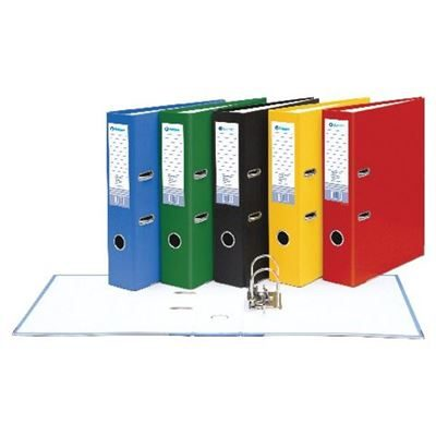 Lever Arch File - Paper Over Board - A4 - 70mm - Assorted Colours