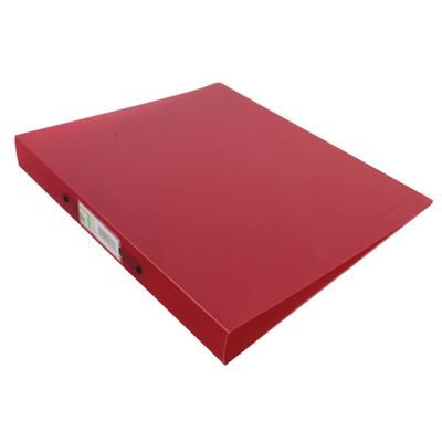 2 Ring Binder - A4 - Frosted Red