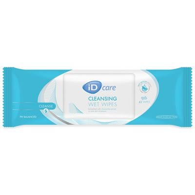 iD Care Cleansing Wet Wipes